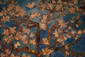 My interpretation of Van Gogh's almond blossom